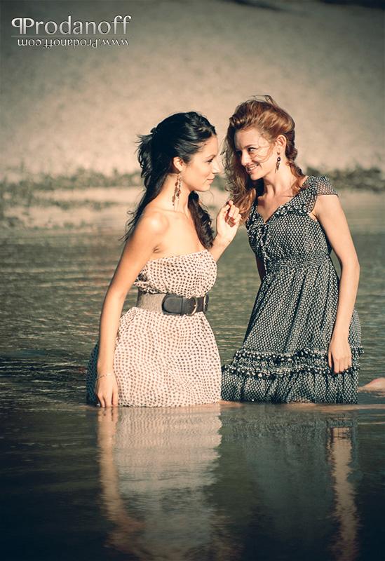 Petya and Vili in fashion session at Donau